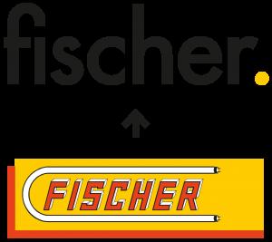 Neues Logo der fischer. GmbH